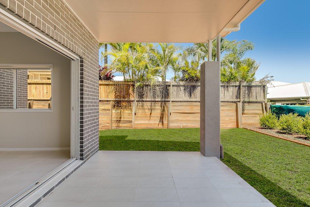 Luxury Duplex backyard